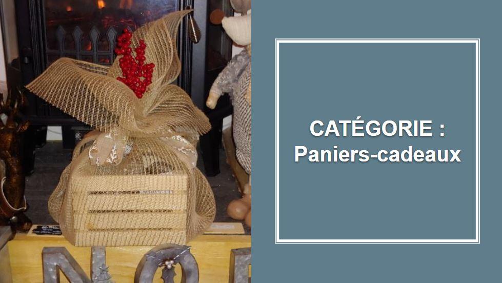 CATÉGORIE : Paniers-cadeaux (avec produits du terroir)