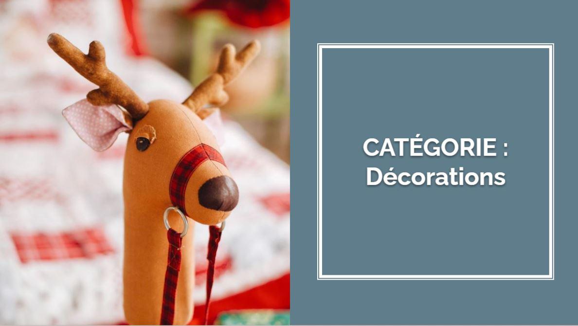 CATÉGORIE : Décorations