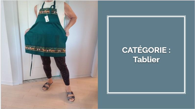 CATÉGORIE: Tablier et bavette