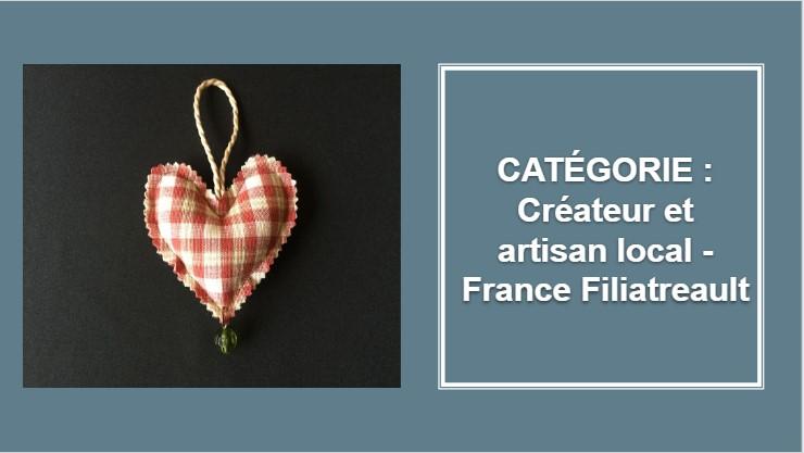 CRÉATEUR & ARTISAN : France Filiatreault