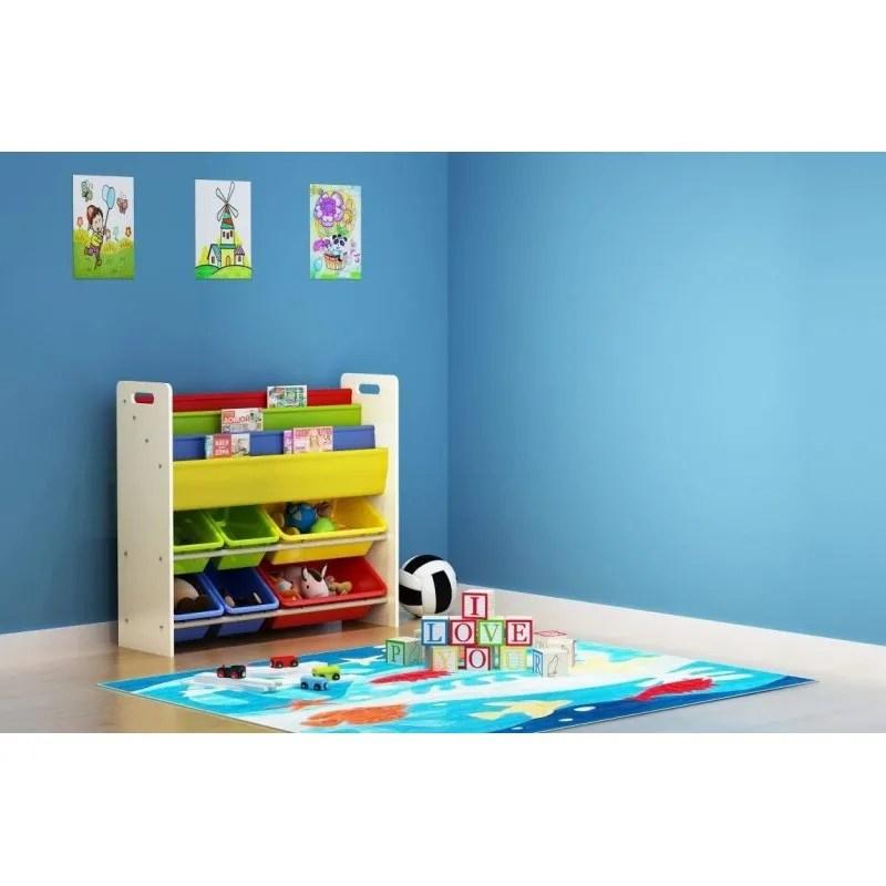 meuble de rangement jouets et livres