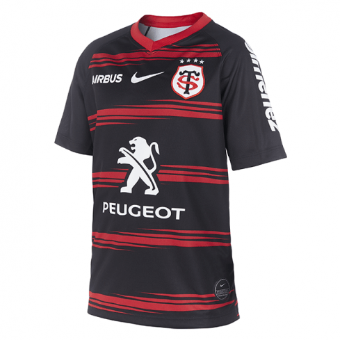 Stade Toulousain Home Child Rugby Shirt 2020/2021 - Nike