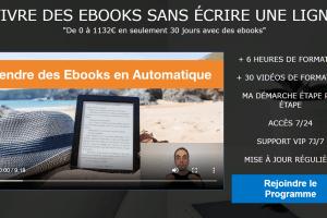 Vendre des Ebooks en Automatique