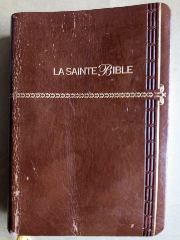 Bible Louis Segond Doré en cuir