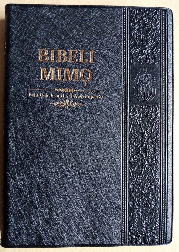 Bible Yoruba (onglet doré)