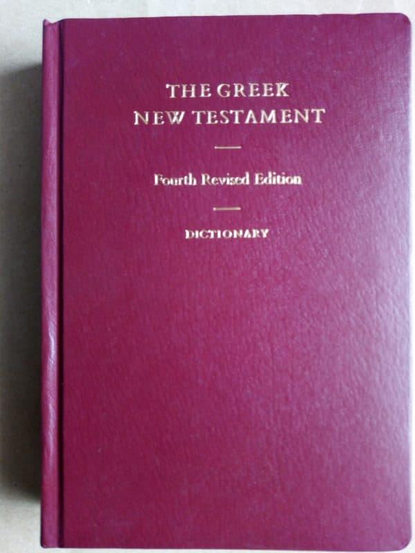 Nouveau Testament Grec et Dictionnaire