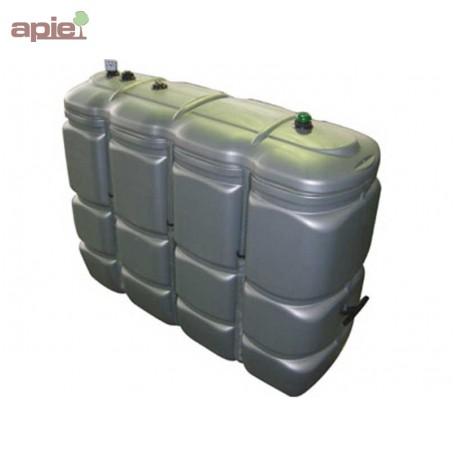 cuve 2000 l pour fioul gasoil gnr double paroi en polyethylene gamme cfpe schutz integrale