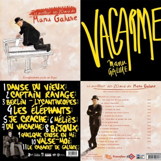 PROMOTION PACK 2 Albums Manu Galure