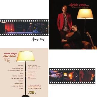 Pack Après Vous... : CD 5 titres + DVD