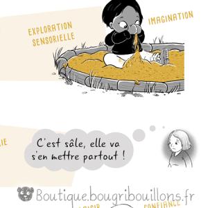 Laisser les enfants se salir Extrait 2 - Affiche Bougribouillons Petite enfance