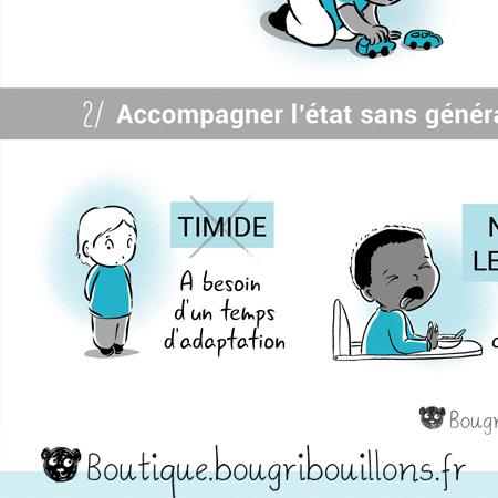 Les étiquettes - Extrait 3 - Affiche Bougribouillons Petite enfance