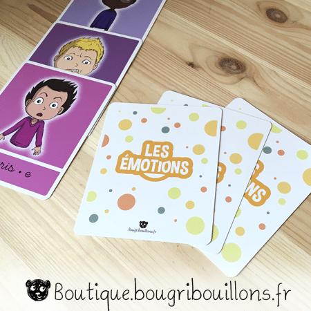 Les émotions - jeu de cartes - Photo 4 - Bougribouillons