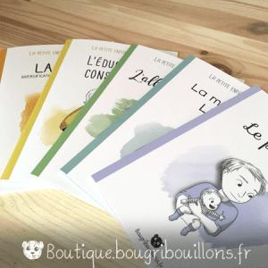 Livrets Bougribouillons - La petite enfance en images - 5 livrets