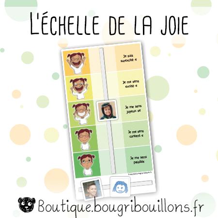 L'échelle de la joie - Bougribouillons