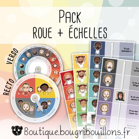 Pack émotions - Roue + Échelles