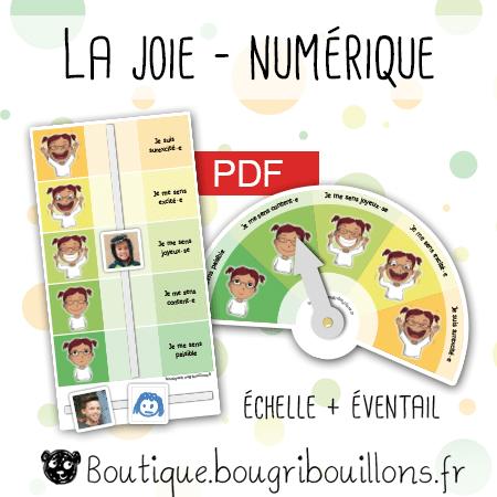 La joie - numérique - Bougribouillons