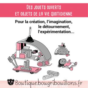 Jeu libre partie 2 - V2 - Extrait 1 - Affiche Bougribouillons Petite enfance