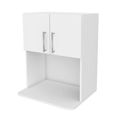 armoire de haut avec niche a micro