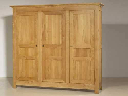 armoire transparence en chene massif