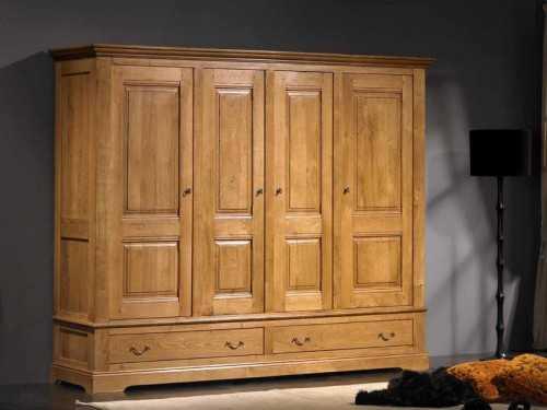 armoire honfleur 4 portes
