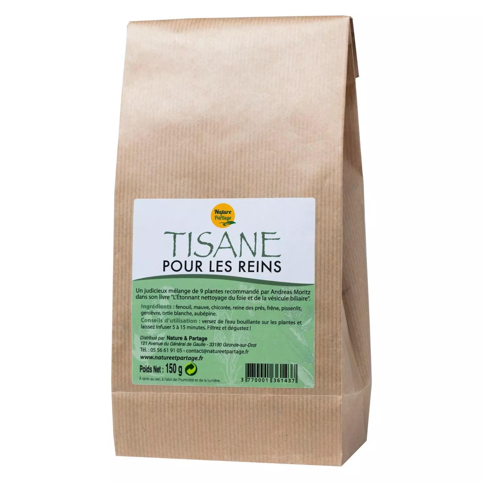 tisane pour le foie