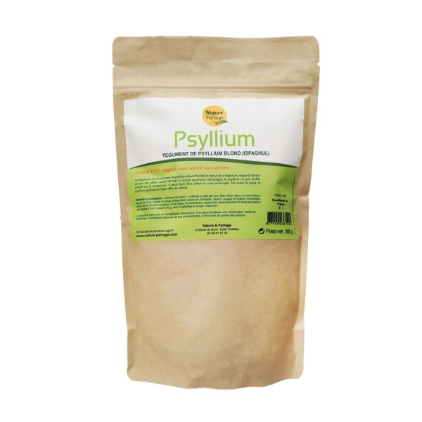 Psyllium blond naturel 300g