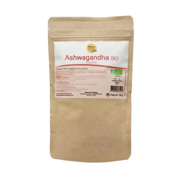 Ashwagandha bio 150g