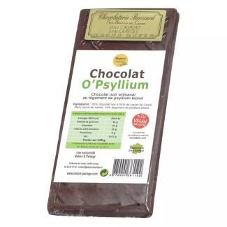 Chocolat noir O'Psyllium