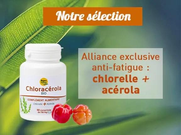 Chloracérola chlorelle acérola