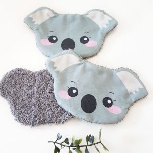 lingette lavable koala