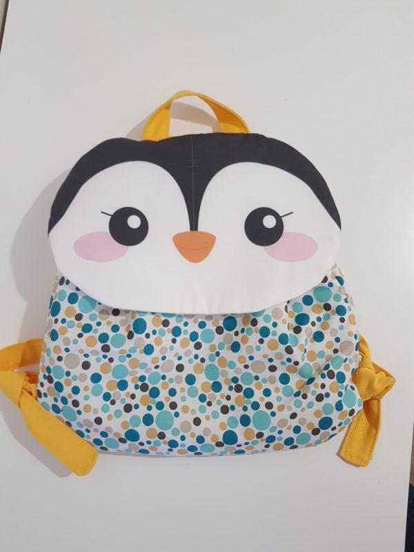 sac a dos pingouin