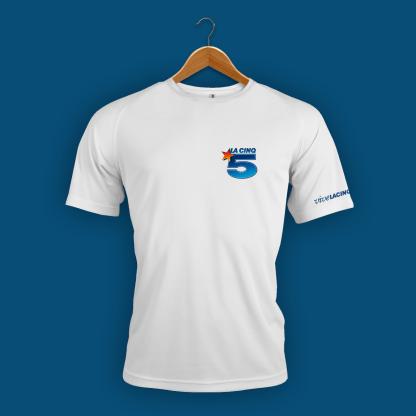 Tee-shirt-Homme-Face La Cinq