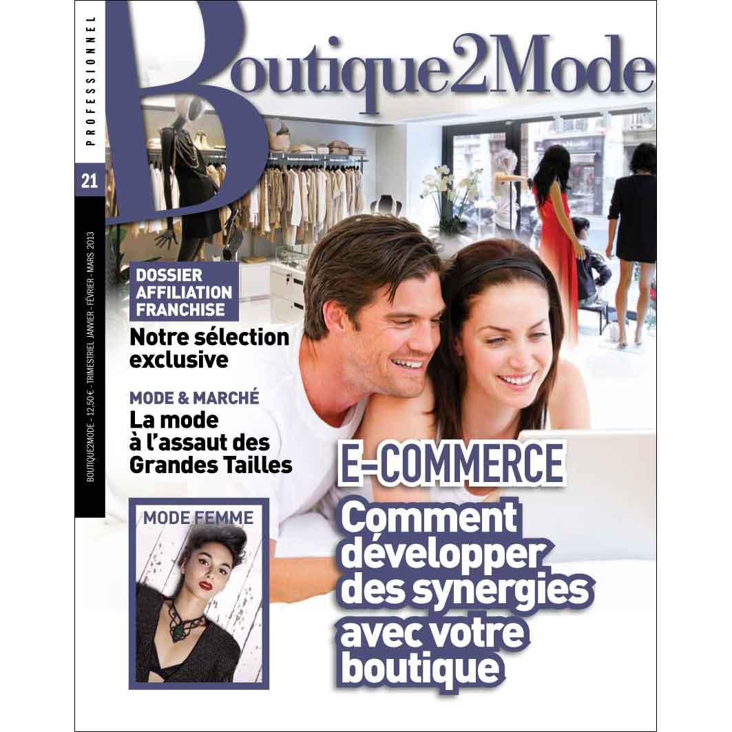 B2M 21 – E-commerce : Comment développer des synergies avec votre boutique ?