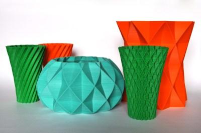 Vasos impressos em 3D