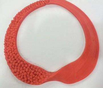 Peça impressa em 3D com tecnologia FFF.