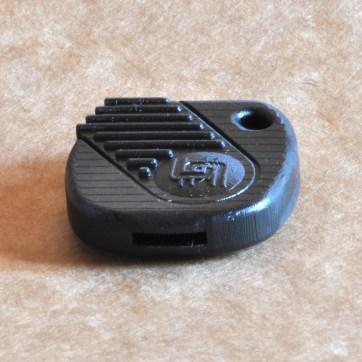 Impressão 3D feita em máquina de tecnologia DLP.