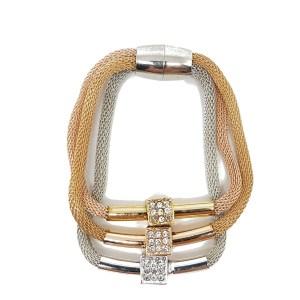 Bracelet magnétique cubes