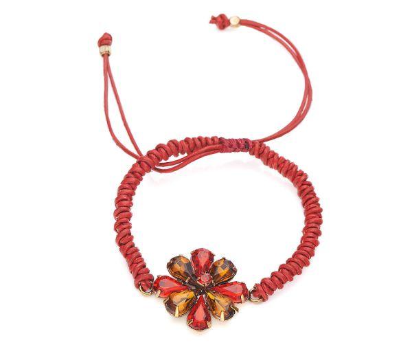 Bracelet porte bonheur rouge