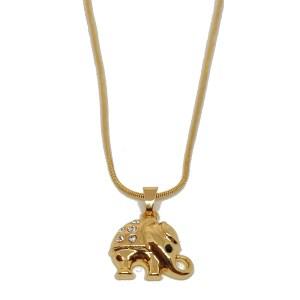 Chaîne dorée avec pendentif collection Inde
