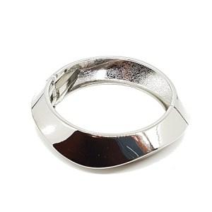 Bracelet vagues argenté