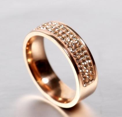 anneau rose gold