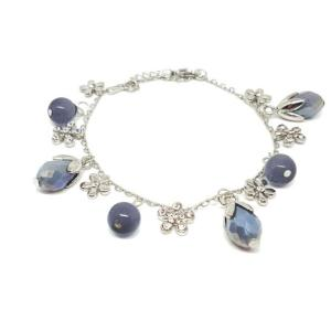 bracelet bourgeon fleur