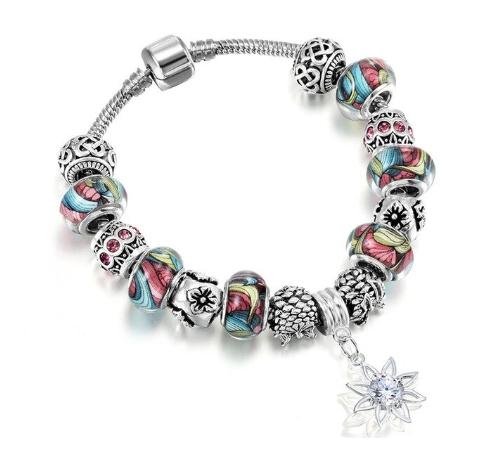 bracelet charms perles murano