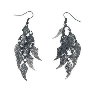 Boucles d'oreilles pampilles ailes d'ange