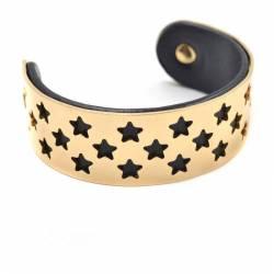 Manchette étoiles dorée