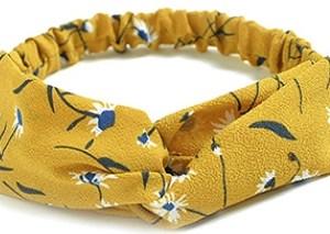 headband jaune