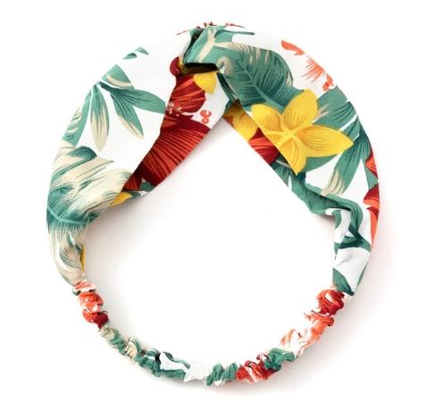 headband motif tropical