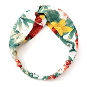 headband motif tropical