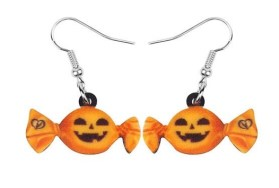 Boucles d'oreilles bonbon halloween