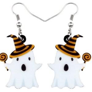 Boucles d'oreilles fantome